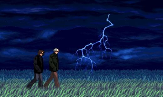 Blandy Lightning web