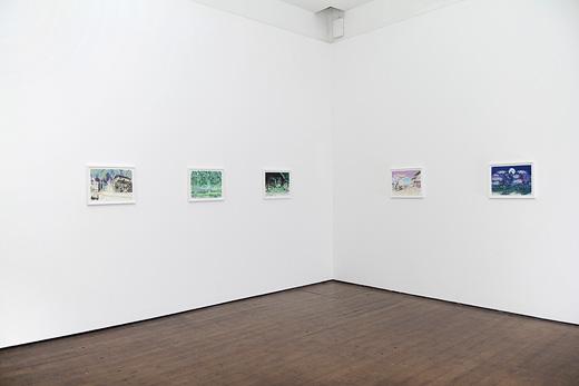 David Blandy Installation View 1