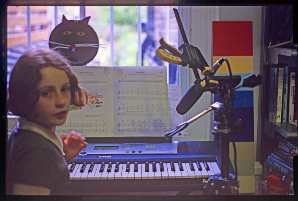 1. Chapters One to Five, Audio production still, 2012