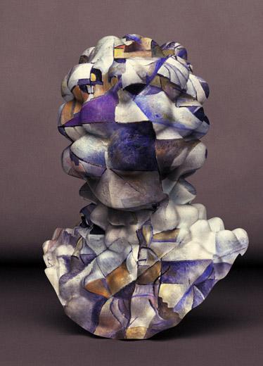 Jon Rafman NAD (Bubbly Malevich)