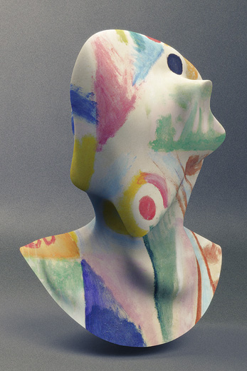 Jon Rafman NAD (Futurismo Delaunay)