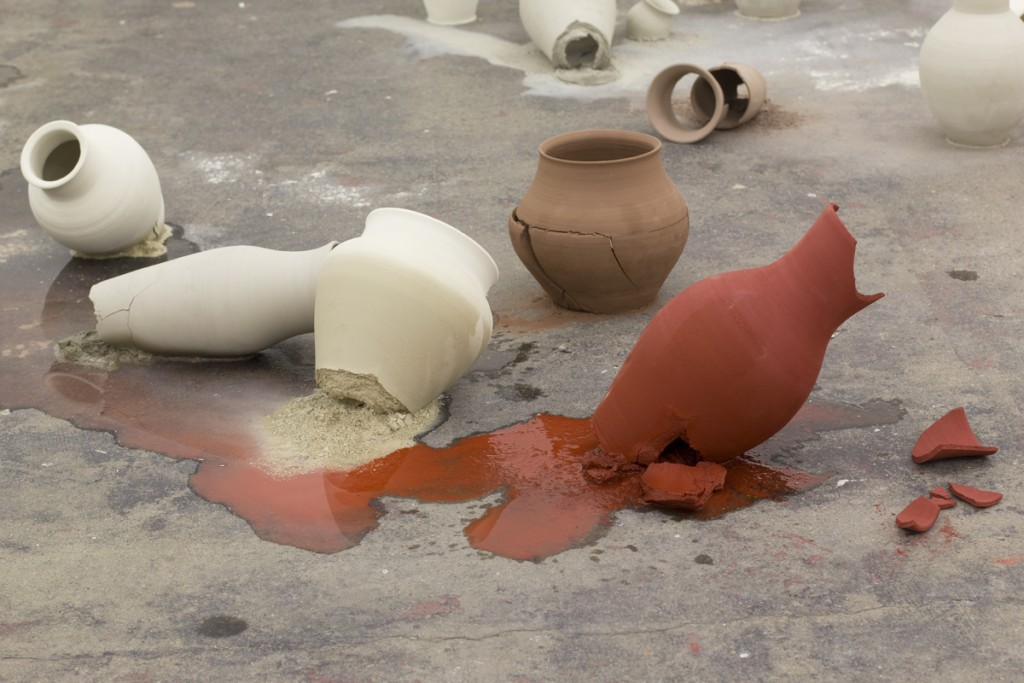 Lehmann pots RED WET