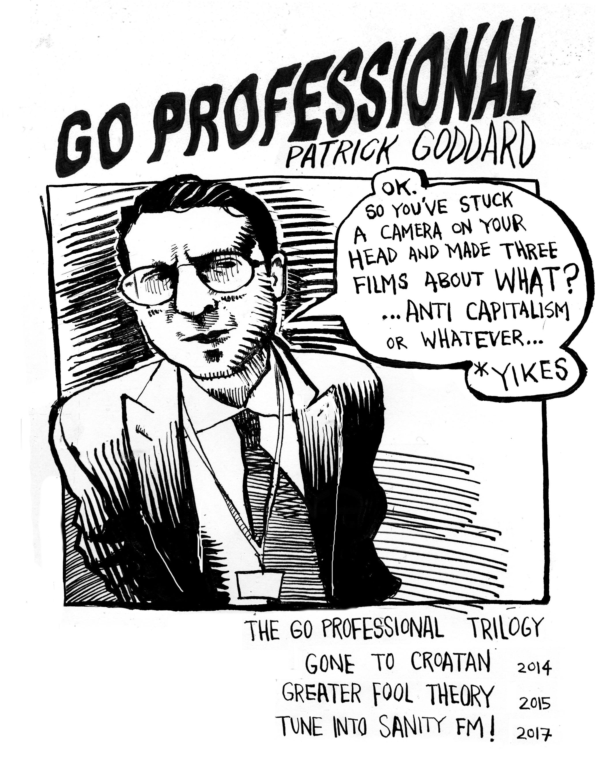 Patrick Goddard, Go Professional